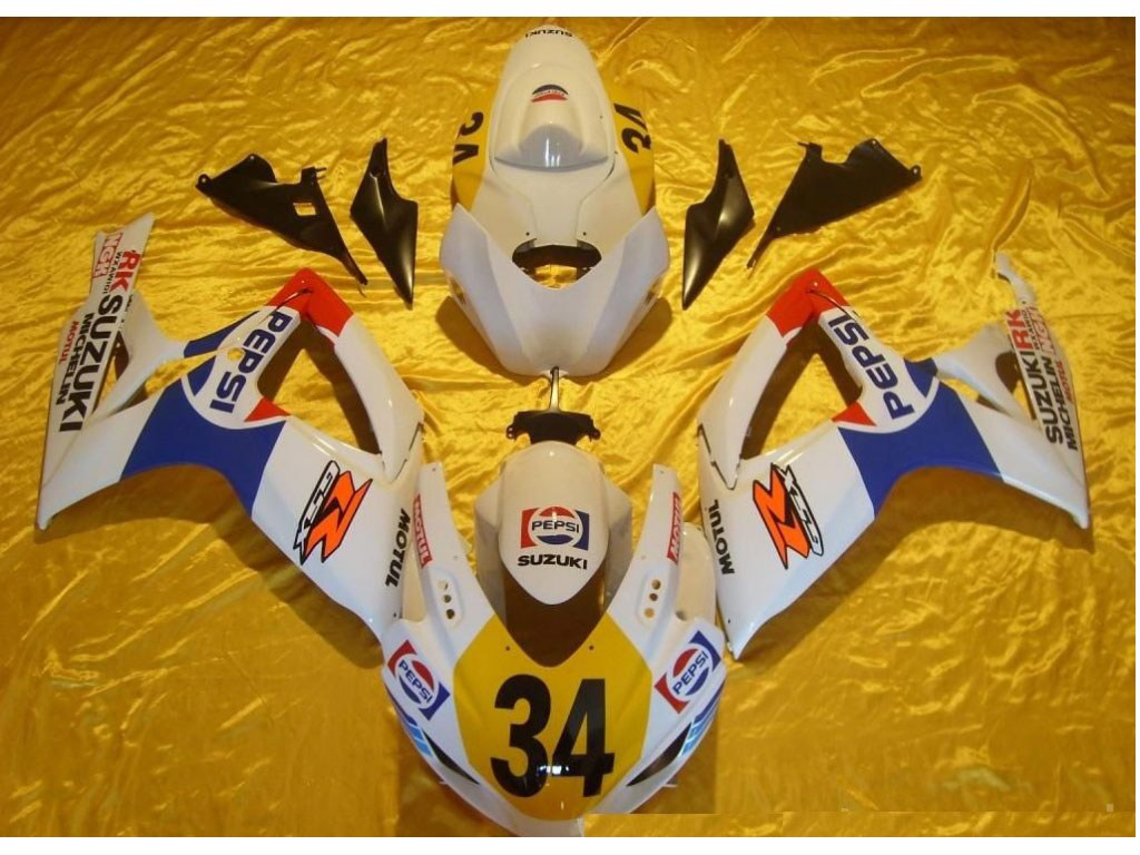 New York Cheap motorcycle aftermarket GSXR750 fairing kit