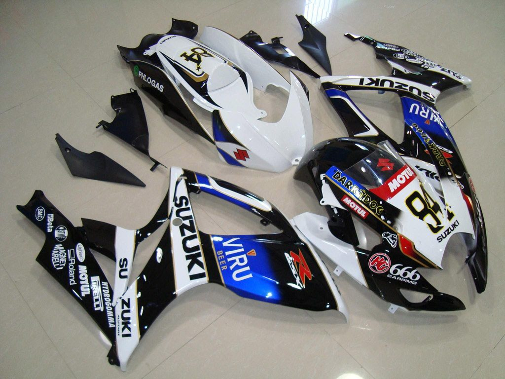 UK LOWER motorbike SUZUKI GSXR 750 fairing KIT