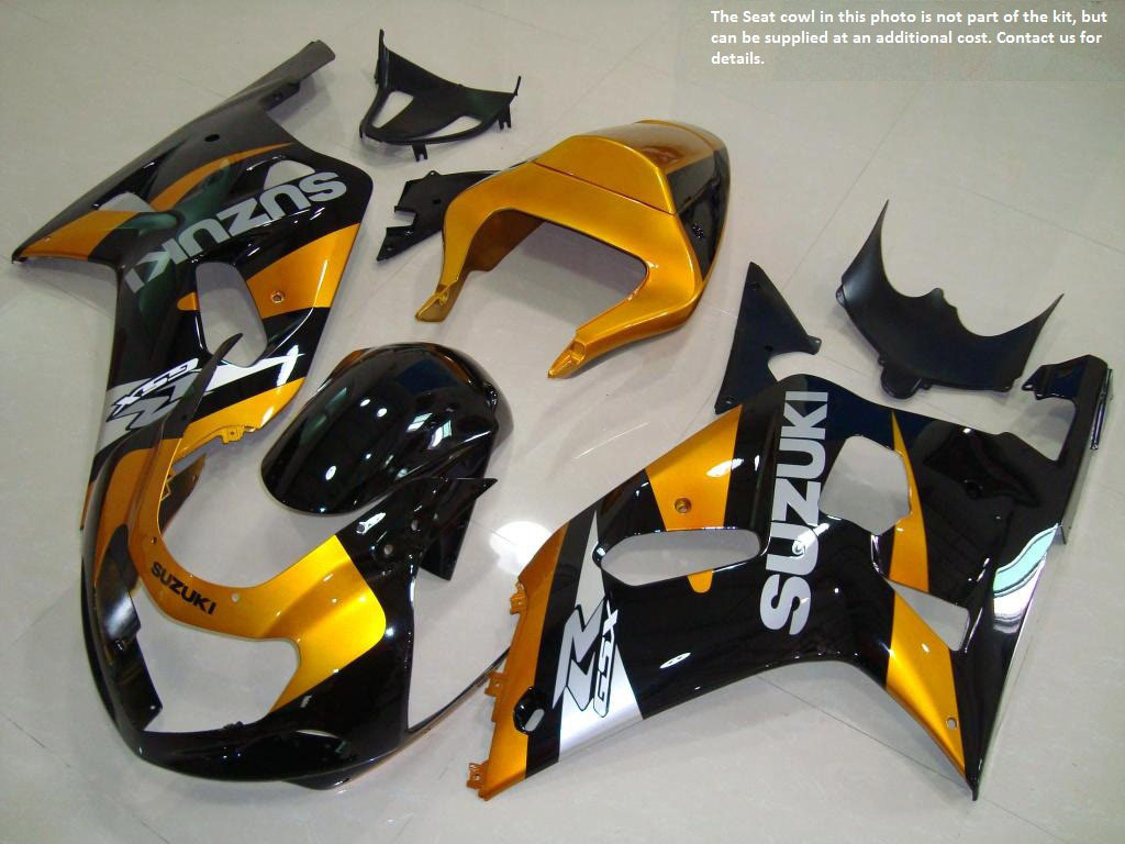 Lower 2001 gsxr 750 fairing ABS