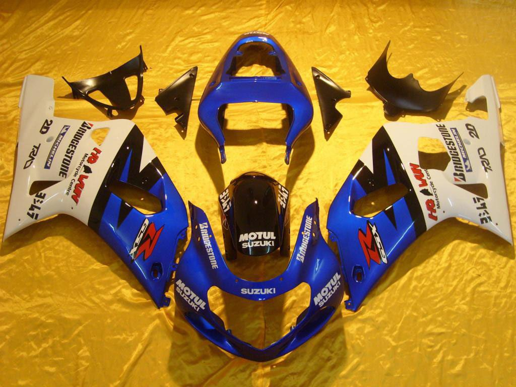 UK Suzuki motorcycles ABS fairing FOR GSXR 750