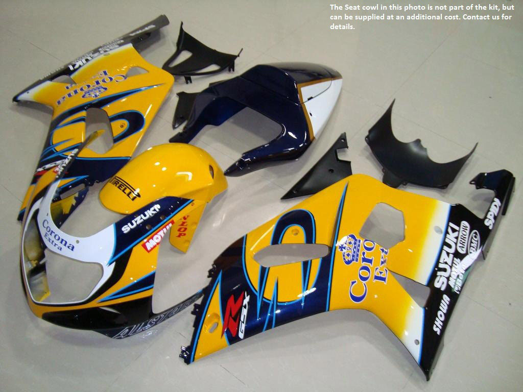 03 gsxr 750 fairings Kit Cheap uk