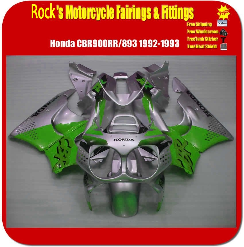 USA custom Honda ABS motorcycle fairing kits CBR900RR 92-93 Whol