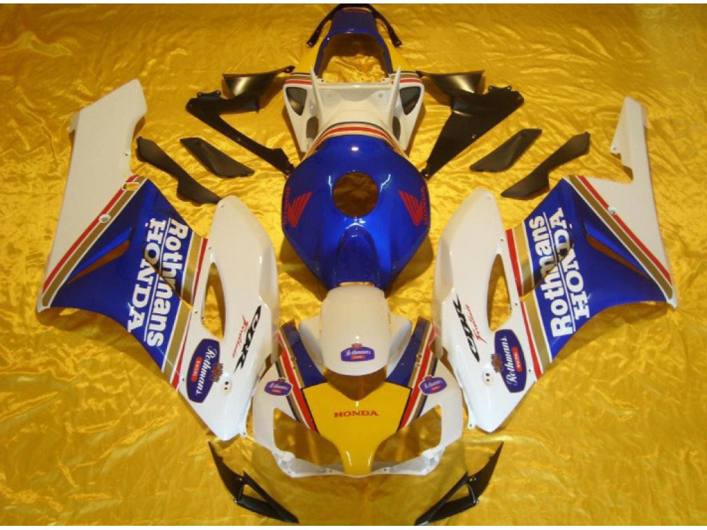 Replacement honda motorcycle fairings for CBR