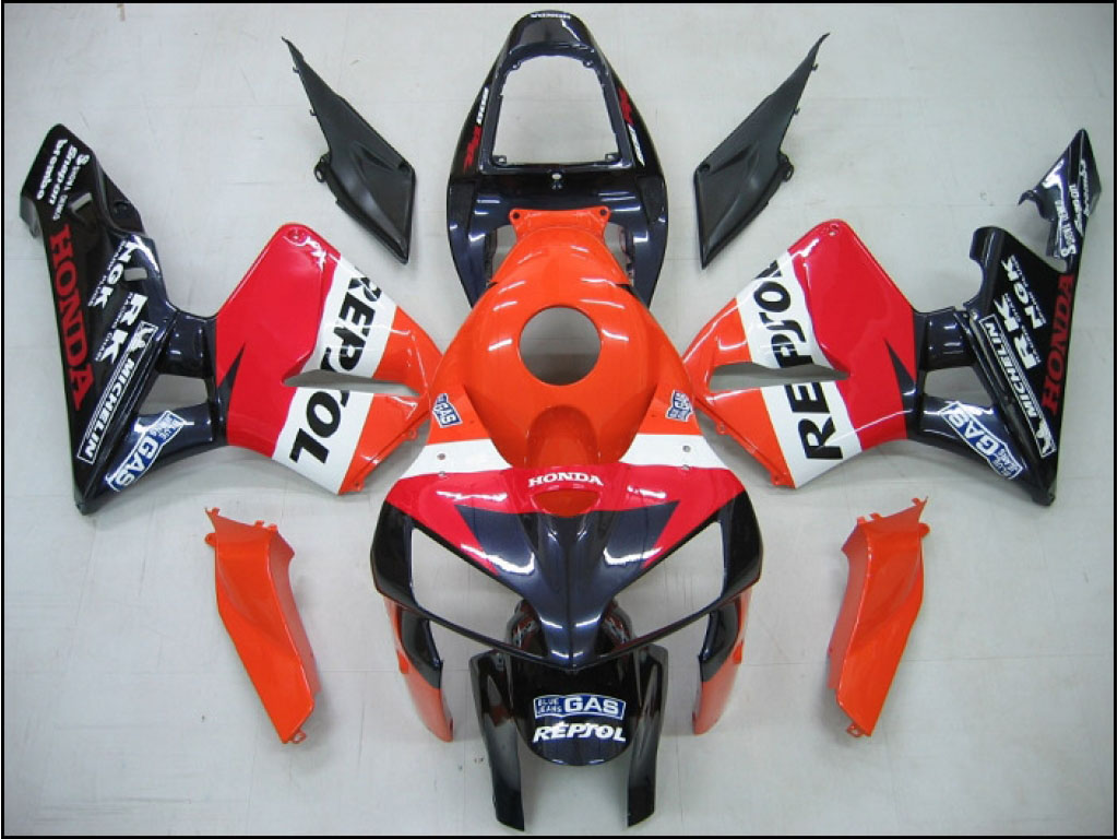 Australia custom Honda ABS motorcycle fairing kits CBR600 RR 05-