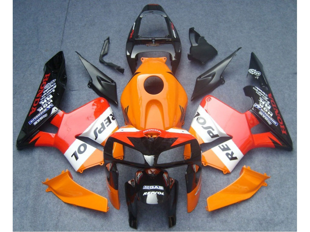 Honda motocycle fairings kits for CBR600 RR 05-06
