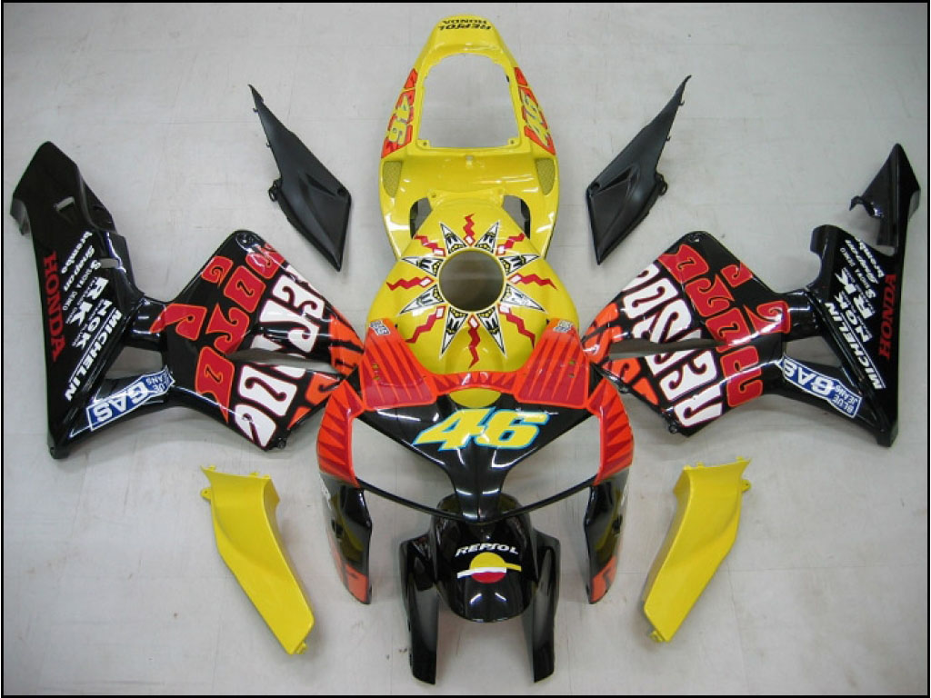 USA custom Honda CBR600 motorcycle fairing kits