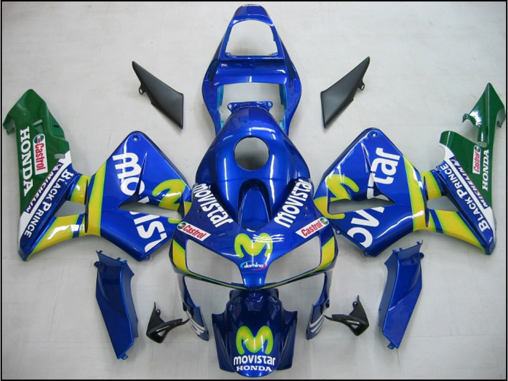 Canada custom Honda motorcycle CBR600 RR 03-04 fairings