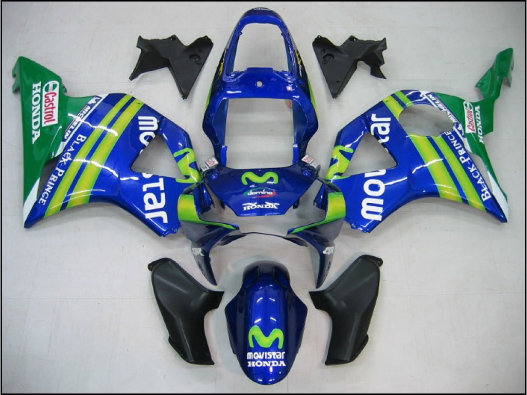 UK custom Honda ABS motorcycle fairing kits CBR900RR 02-03