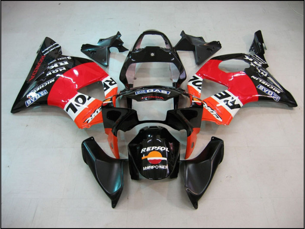 2002 custom Honda CBR900RR motorcycle fairings