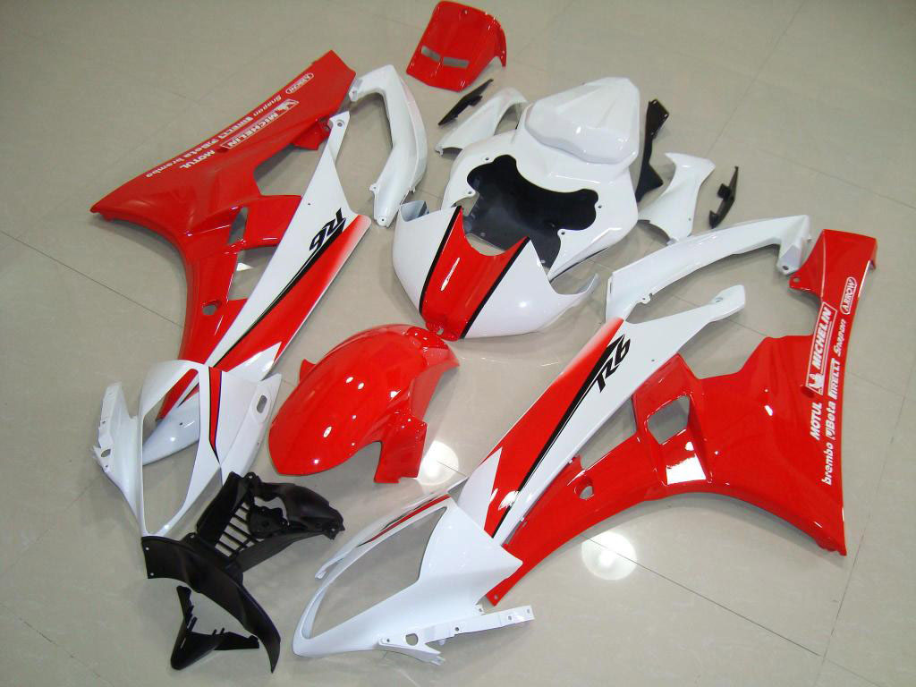 ABS motorcycles Yamaha YZF-R6 fairing