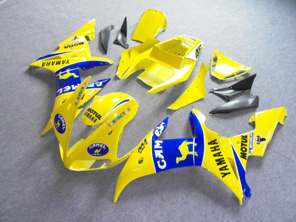 Lower motorcycle Yamaha YZF-R6 fairing