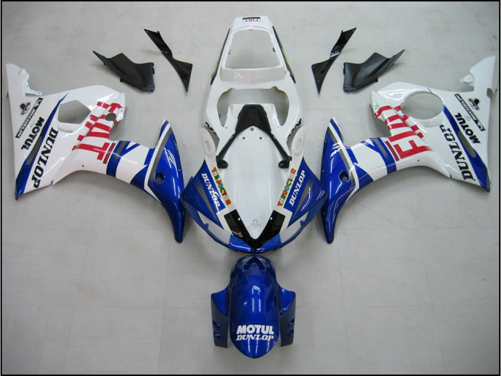 Lower motorcycles Yamaha YZF-R6 fairing