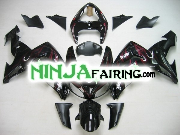 Zx10r fairings for New Zealand ninja clubs