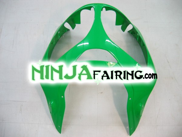 United States aftermarket motorcycle fairings for ZX12R - GREEN