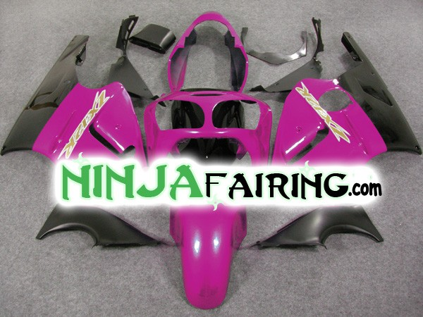PURPLE & BLACK - USA OEM NINJA zx12r fairings FOR KAWASAKI