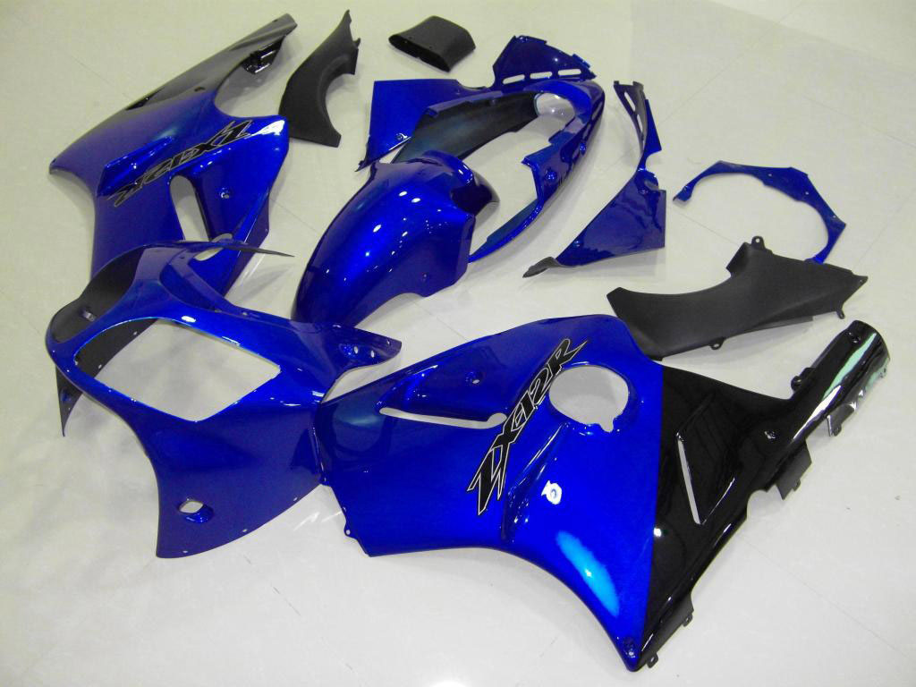 UK Customized abs zx12r fairing set - ALL BLUE