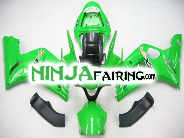 Custom ABS ZX6R fairings for kawasaki CA