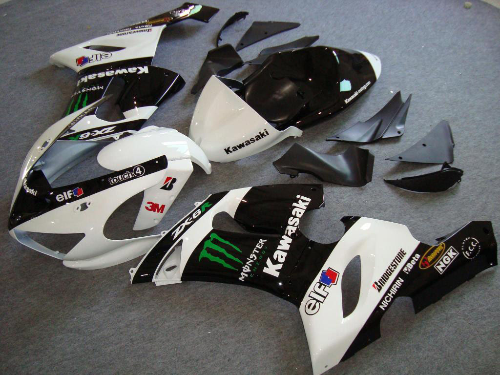 USA factory style ninja zx6r fairing for kawasaki