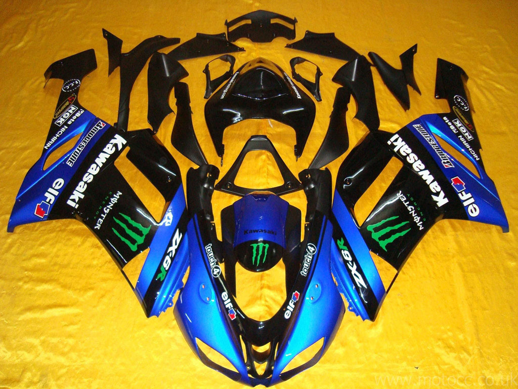 Nice ninja zx6r fairing for kawasaki